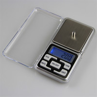 Wholesale Balance Digital Weigh - Hot sale 200g x 0.01g Mini Digital Scale LCD Electronic Capacity Balance Diamond Jewelry Weight Weighing Pocket Scales