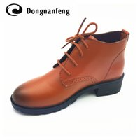 Wholesale Lace Up Oxford Platform Creepers - Wholesale- New Women's Shoes Woman Lace-Up Oxford Shoes Platform Zapatos Hombre Chaussure Homme Creepers Ladies Shoes Flats 2017 .DNF6251