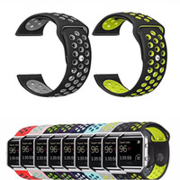 Wholesale New Hole Arrive - New Arrived Sport NK Silicone More Hole Band Strap Replacement Accessories Wrist Band For Fitbit Blaze