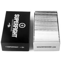 cartas de súper pelea al por mayor-2015 La mayoría de los juegos de cartas Popuar Superfight Cards Las cartas de naipes de 500 cartas también tienen cartas básicas y de expansión En existencia DHL Free