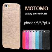 Wholesale Grand Bumpers - Ultra Thin Aluminium Metal Brushed Bumper Phone Case Cover For Iphone 5 5S 6 6S Plus 6s Samsung Galaxy Grand Prime S7 Edge S7 S6 Edge S6