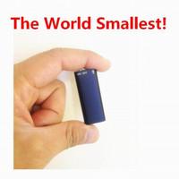 1gb usb flash sürücü 16gb toptan satış-VOS Sesli Uzun Süreli Kayıt 8GB Dijital Ses Kaydedici USB Flash Sürücü 16GB MP3 Çalar Dünya Küçük!