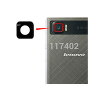 Wholesale Camera For Lenovo - Wholesale- For Lenovo VIBE Z2 Pro 6inch camera glass lens cover adhsive glue gap replacement repart part + Tracking