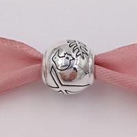 neuseeland schmuck großhandel-Authentische 925 Sterling Silber Perlen Neuseeland Farn Kiwi Silber Charme passt europäischen Pandora Style Schmuck Armbänder Halskette 791363