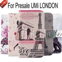 Wholesale London Cover - AiLiShi High Quality Case For Presale UMi LONDON Luxury Wallet Protective Cover Skin PU Flip Cute Leather Case With Card Slot
