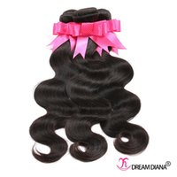 Wholesale Human Weave For Cheap - Brazilian Virgin Hair Body Wave Human Hair Weave Cheap Brazilian Body Wave Hair Bundles for Wholesale 3pcs Lot Natural Color 1B