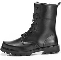 Wholesale Wholesale Boots For Men - Whole US Army Tactical Comfort Leather Combat Military Ankle Boots Combat Shoes for Men Women Drop Shipping Size 6-12