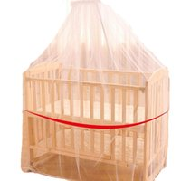 Wholesale Carts For Children - Wholesale-2016 Baby Crib Cot Insect Mosquitoes Wasps Flies Net for Infant Bed Folding Crib Netting Child Baby Mosquito Nets With Stand