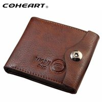 Wholesale Big Money Wallet Leather - Men Hasp Wallet Leather Purse Trifold Wallets For Man High Quality Big Capacity Credit Crad Holders Money Bag Cheap