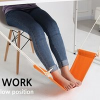 Foot Hammock Portable Office Mini Feet Rest Desk Foot RELIVE Hamac Hangmat Study Table Hang Leisure Hanging Chair ENVIO GRATUITO