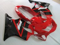 Wholesale parts fit for sale - Aftermarket fairing kit fit for Honda CBR600 F4 red black motorcycle fairings body parts CBR600F4