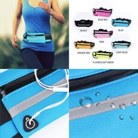 Wholesale 4.7 inch cell phone for sale - Group buy 7 Colors inch Universal Cell Phone Cover Case Waterproof Waist Bum Bag Men Women Outdoor Sport Hiking Money Belt