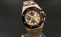 Wholesale Men Mechanical Watches Vintage - new MAN famous vintage brand new Rose gold CASE DATE Luxury Fashion Wholesale men watch sports Automatic mechanical Stainless Men's Watches