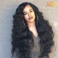 Wholesale beauty queen human hair - Queen Weave Beauty Peruvian Human Hair Wave Extension Peruvian Hair Body wave 8a Best Quality Peruvian Hair Wave 3 Bundles Natural Color