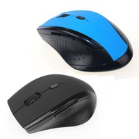 Barato Pc Grossistas De Jogos-2.4GHz Wireless Optical Gaming Mouse Mouse para computador PC Laptop atacado 50pcs Free DHL Shipping