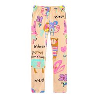Wholesale Children Patterned Cotton Tights Leggings - Children Pants Cartoon Girls Leggings 2017 Straight Trousers Children Autumn Trousers with More Patterns Baby Pants