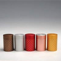 Wholesale Mini Caddy - metal cans tea caddy mini small sealed canisters round tea tin box Cosmetic box portable travel fast shipping F20171981