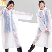 Wholesale Fashion Raincoats - Fashion Raincoat Adults Raincoat Creative Design Shiny Colors Outdoor Rain Coat With Hoodies Durable Eco-Friendly Poncho Wholesale