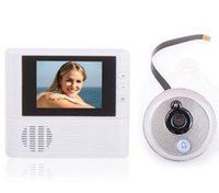 "Wholesale Digital Peephole Viewer Security - 2.8"" LCD Monitor Digital Door Peephole Viewer Home Security System Cam video recorder doorbell Security camera No WiFi No APP Eye"