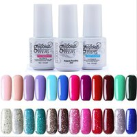 Wholesale Top Coat Nail Polish Wholesale - Gelish Gel Polish 5ml Polish UV Soak Off Nail Gel Base Coat Foundation & Top coat Lacquer Varnish 100% Brand Long-lasting 0059-10MU