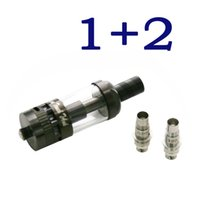 Wholesale Dream Atomizer - 1+2 Atomizer Dream Touch TAnk with 2pc Extra Coils Authentic RBA RTA No Leaking Adjustable Airflow fit Box Mods
