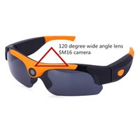 Wholesale Multi Function Sunglasses - Wholesale-SM 16 Multi-function 1080P HD Polarized Sunglasses Camera Video Audio Recorder Eyewear Camcorder