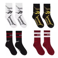Wholesale Crazy Fashion - Men Harajuku Hip Hop Crazy Socks Cotton White Red Black Compression Crew Socks Fashion Unisex Vetements Socks Male cheapest-socks