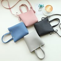 Wholesale Bow Cross Body Bag - 2017 Japan and South Korea New Female Package Mini Casual Small Handbag Shoulder Messenger Women Phone Bag Crossbody Bag