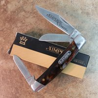 Folding Blade blade swirls - MZY Imperial Schrade Amber Swirl quot Medium Stockman Pocket Knife IMP15S