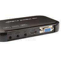 медиапроигрыватель mp4 оптовых-Wholesale- New Digital USB Full HD 1080P HDD Media Player HDMI VGA SD MMC Support DIVX AVI RMVB MP4 H.264 FLV MKV Music Movie