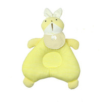Wholesale Bunny Pillow - Bunny baby stereotyped pillow newborn child defensive head correct pillow