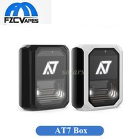 Wholesale Water Cooler Box - Authentic Stentorian AT7 Box Mod 100W 3500mah AT 7 e cigarette vape mod Inspired from water-cooled system vs Smoant Rabox 100% original