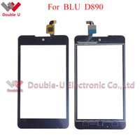 Wholesale Touch Screen Blu - 5pcs lot new For Blu Studio C 5+5 5 plus D890 D880 Touch Screen Touch Panel Glass sensor Digitizer Replacement Free Shipping