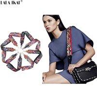 Wholesale Shoulder Strap Accessories - LALA IKAI New National Style Shoulder Belt Designer Strap You Bag Accessory Two Lengths Strap Belts for Bags BWA0761-49