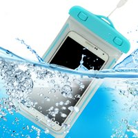 Wholesale Iphon Screen - Underwater photo mobile phone waterproof bag hot spring swimming mobile phone general company's other touch-screen submersible and for iphon