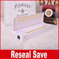 Wholesale Reseal Save - Cooking tools Food vacuum sealer Save Portable heat sealing machine Reseal Airtight handy Keep Food Fresh