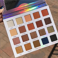 Wholesale violet waters - 2017 NEW ITEMS Makeup Violet Voss Nicol Concilio Pro Eye Shadow white Palette 20 color eyeshadow palette