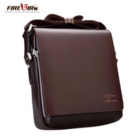 Wholesale Ipad Crossbody Bag Men - Wholesale- New Kangaroo design leather men Shoulder bags, men's casual business messenger bag,vintage crossbody ipad Laptop briefcase 2071