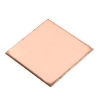 Wholesale Copper Plate Sheet - Wholesale- 10PCS Laptop Copper Sheet Plate Strip Shim 0.1mm 0.3mm 0.5mm 0.8mm  Thermal Pad Heatsink Sheet For GPU CPU VGA Chip RAM Cooling