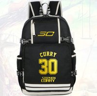 Wholesale Two Player - Stephen Curry backpack MVP star fans daypack Best player schoolbag Basketball rucksack Sport school bag Outdoor day pack