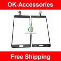 china clone toptan satış-Çin Not 4 Için 5,7 Inç SmartPhone Not 4 Clone 6011-v1.0 Dokunmatik Ekran Digitizer Beyaz Renk 1 Adet / grup Ücretsiz Kargo