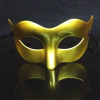Wholesale Back Bmw - Plated flat head men and women festive dance masks mask mask BMW mask