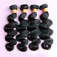 Wholesale Discount Virgin Hair Unprocessed - Indian Top Quality Remy Hair Weave Body Wave High Fidelity Discount Hair Extensions 8A Grade Unprocessed 100% Virgin Remy Remi human hair