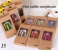 Wholesale S3 Headphones Original - Original 3.5mm In-Ear Earphone Music Dj Headset with MIC & Volume Control headphone for Samsung Galaxy S4 S5 S3 S6 with retail package