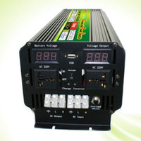 Display a LED 5000 Watt 10000 W (picco) 12 V / 24 V A 220 V 230 V Power Inverter + Caricabatterie UPS