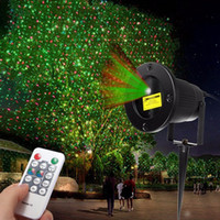 Wholesale Light Show Night - Landscape Stars Stage Light Night Sky Laser Projector With Remote Control Outdoor Christmas Party Disco Show US EU Plug