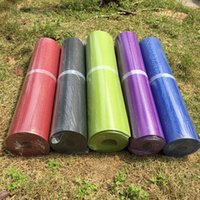 Wholesale Highly density durable nontoxic mm green yoga mats g RoHS