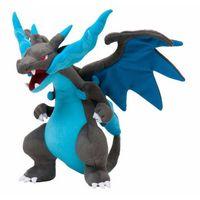 "Wholesale Mega Cartoons - Hot Sale 9"" 23cm Mega Evolution Charizard Plush Doll Stuffed Toy Cartoon Gift for Kid discount A001"