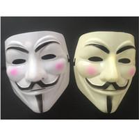 ingrosso resina maschera anonima-Hot V for Vendetta Anonymous Guy Fawkes Resin Fancy Cool Costume Cosplay Maschera per feste, Feste,