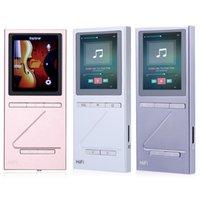 Wholesale Pocket Watch Displays - Wholesale- X5 Pocket HiFi Lossless Audio MP3 Player FM Radio High Fidelity Sound 8G Storage Digital Display With TF Micro SD Card Slot